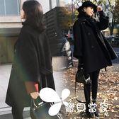 毛呢外套反季赫本風毛呢大衣女2018新款韓版矮個子森系中長款秋冬呢子外套