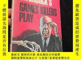 二手書博民逛書店Alfred罕見Hitchcock`s Games Kilier