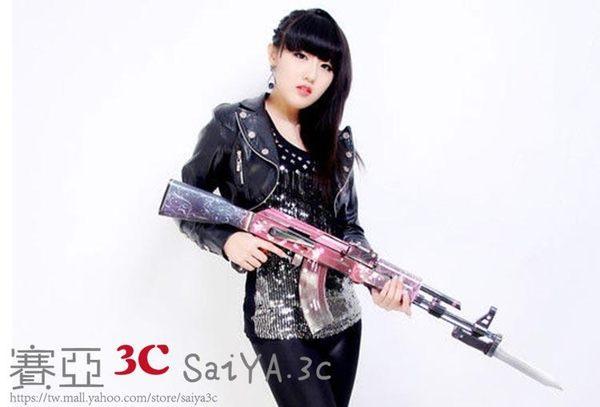 聖誕元旦鉅惠 紙模型 AK47步槍 3D紙模型立體拼圖
