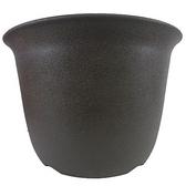 Luder S 塑質素陶盆5吋 咖啡