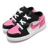 Nike 休閒鞋 Jordan 1 Low ALT TD 白 粉紅 童鞋 小童鞋 運動鞋 喬丹 【ACS】 CD7227-106