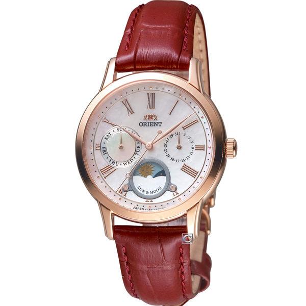 ORIENT東方錶日月星辰時尚錶 RA-KA0001A
