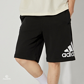 Adidas M MH BOSShortFT 男 黑 運動 慢跑 短褲 DX7662