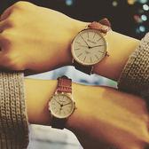 韓版 簡約 復古 手錶 情侶 男錶 對錶 女錶 [W122]