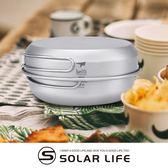 鎧斯Keith Ti6053純鈦環保餐具套鍋組附收納袋