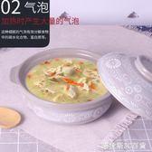 砂鍋燉鍋家用燃氣陶瓷煲湯鍋小沙鍋湯鍋明火耐高溫瓦罐湯煲  圖斯拉3C百貨