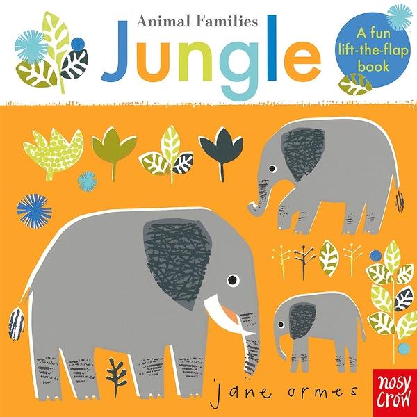 Animal Families:Jungle 動物家族:叢林篇 趣味翻翻書