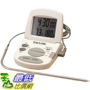 [美國直購] Taylor Precision Products 1470 探針式 溫度計 Digital Cooking Thermometer/Timer