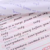 6本裝 英文字帖臨摹練字意大利斜體英語中小學生兒童描摹xx10078【歐爸生活館】