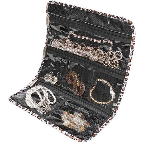 《TRAVELON》隨行珠寶袋(豹紋)