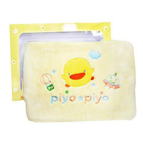 【奇買親子購物網】黃色小鴨 PiYO PiYO 加大珊瑚絨涼被 (藍/黃/粉)