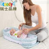 toody床中床嬰兒床多功能可摺疊便攜式新生兒寶寶床bb旅行床上床igo『櫻花小屋』