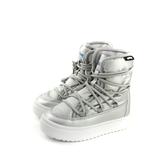 native CHAMONIX 雨靴 太空靴 厚底 銀色  小童 童鞋 43106000-1902 no781