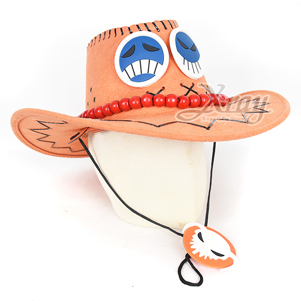節慶王【W010052】牛仔帽(眼鏡串珠),萬聖節/Party/化妝/舞會/cosplay/造型/牛仔帽/牛仔/帽子