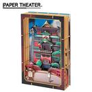 【日本正版】紙劇場 神隱少女 木製風格 Wood Style 油屋模型 無臉男 宮崎駿 PAPER THEATER - 507541