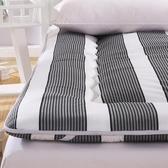 (快速)床墊 床墊1.8m床褥子1.5m雙人墊被褥學生宿舍單人0.9米1.2m海綿榻榻米
