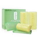 CLINIQUE 倩碧 三步驟洗面皂3小塊 50gX3(溫和型/加強型)【橘子水美妝】