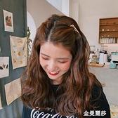 金屬無痕發夾發梳網紅可愛劉海夾發卡發飾氣質少女韓國后腦勺頭飾 雙十二全館免運
