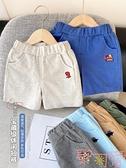 男童純棉運動短褲寶寶中褲子嬰兒外穿【聚可愛】