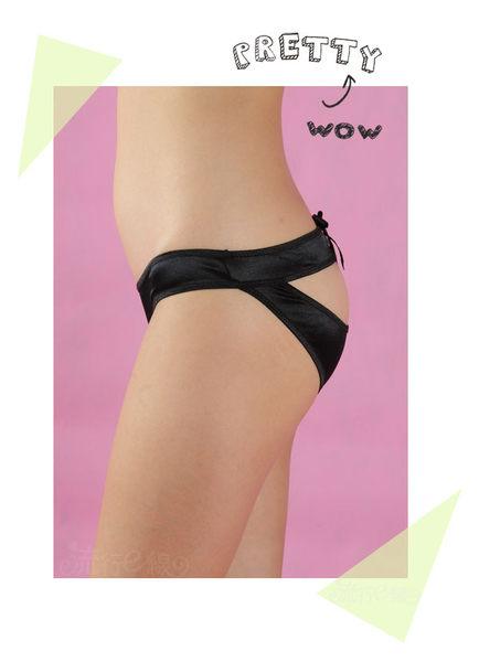 性感內褲~素面後挖空三角情趣內褲~流行E線B522