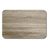 天然橡膠複合廚房地墊50x75cm-木紋