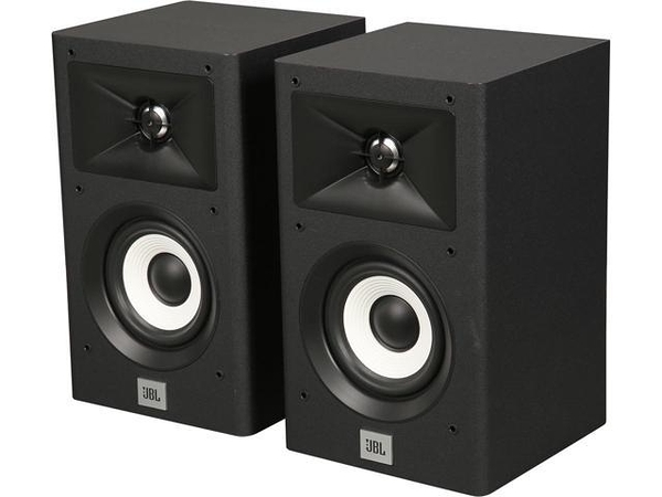 ◆美國 JBL家庭劇院音響 Stage A120 書架型喇叭 環繞二音路 號角高音設計 音質優異~黑色 公司貨保固