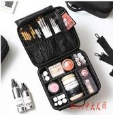 化妝包女大容量多功能便攜ins風旅行化妝箱專業化妝師跟妝包LXY1475【Rose中大尺碼】