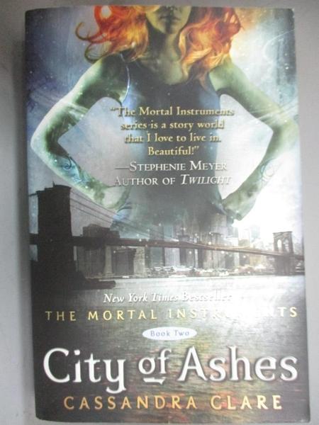 【書寶二手書T2/一般小說_JHZ】City of Ashes_Clare, Cassandra