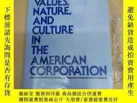 二手書博民逛書店Values,罕見Nature, and Culture in