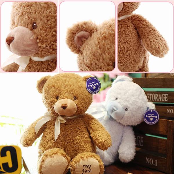 小熊絨毛娃娃玩偶30公分 45-00245【77小物】