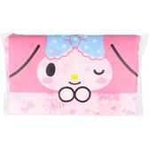 小禮堂 美樂蒂 日本製 抽取式面紙包 100抽 (粉大臉款) 4977033-21123