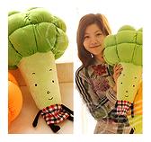 50cm大隻花椰菜娃娃抱枕(新郎抽花椰菜) -男生捧花伴郎禮情人節禮物幸福朵朵婚禮小物