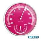 【日本DRETEC】溫濕度計-粉