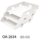【奇奇文具】樹德SHUTER OA-2634 組合式三層桌上文件收納架/公文架