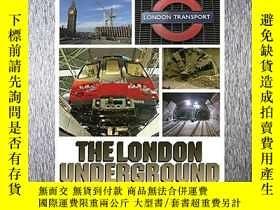 二手書博民逛書店Super罕見Structures - The London Underground-超級建築-倫敦地鐵Y44