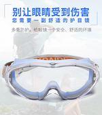 騎車護目鏡防風沙勞保防飛濺防塵眼鏡透明工業粉塵騎行防風鏡男