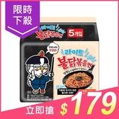 韓國 火辣雞肉風味鐵板炒麵(輕量版)110gx5包【小三美日】原價$199