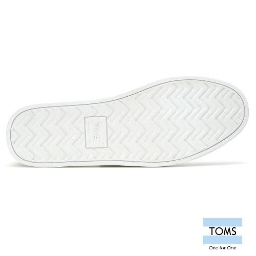 TOMS 條紋麂皮拼接帆船休閒鞋-男款(10008056   NAVY)