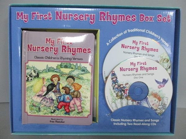 【書寶二手書T9/兒童文學_QBP】My First Nursery Rhymes Box Set