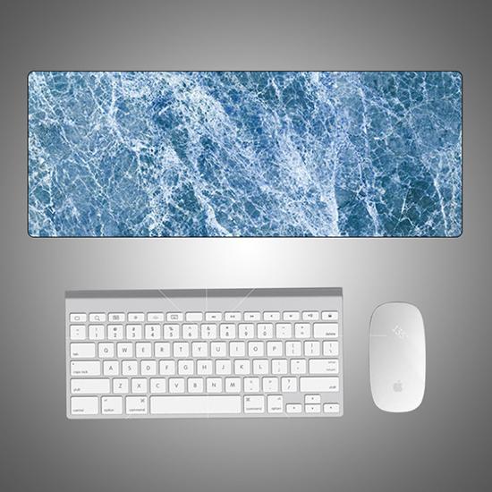 大理石紋 辦公墊 滑鼠墊 止滑墊 北歐風 書桌墊 防水 筆電 鍵盤墊 大理石桌墊【Z078】米菈生活館