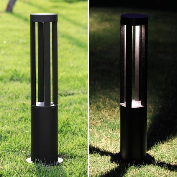 草坪燈四柱平頭LED戶外 防水景觀庭院燈小區方形