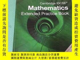 二手書博民逛書店Cambridge罕見IGCSE Mathematics Ext