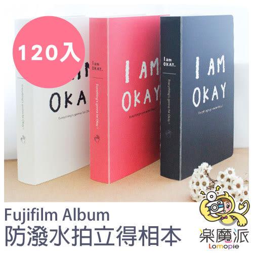 富士 拍立得相本 相冊 相簿 可裝120張 單色英文字母相本 適用MINI拍立得底片