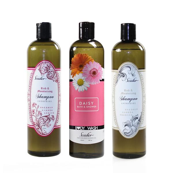 【Sesedior】3瓶-經典香氛洗髮精-KOKO1瓶+No51瓶-送小雛菊沐浴乳1瓶