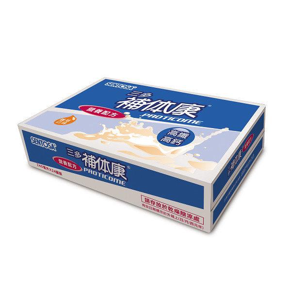 【三多生技】補體康高纖高鈣營養配方 240ml x24罐(箱)