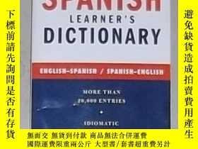 二手書博民逛書店Spanish罕見Learner s Dictionary -