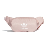adidas 腰包 Essential Crossbody Bag 粉紅 白 男女款 側背包 三葉草 【PUMP306】 ED9377