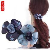 髮飾 發夾成人韓國頭飾優雅百搭女士發卡夾子發飾頂夾一字夾馬尾夾橫夾 歐雷爾藝術館