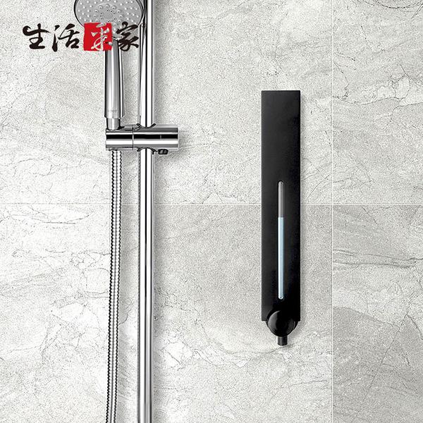 SHCJ 單孔手壓式給皂機500ml-霧黑