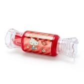 〔小禮堂〕Hello Kitty 糖果造型保濕香氛唇釉《紅》蘋果香.唇膏.唇彩 4901610-12171